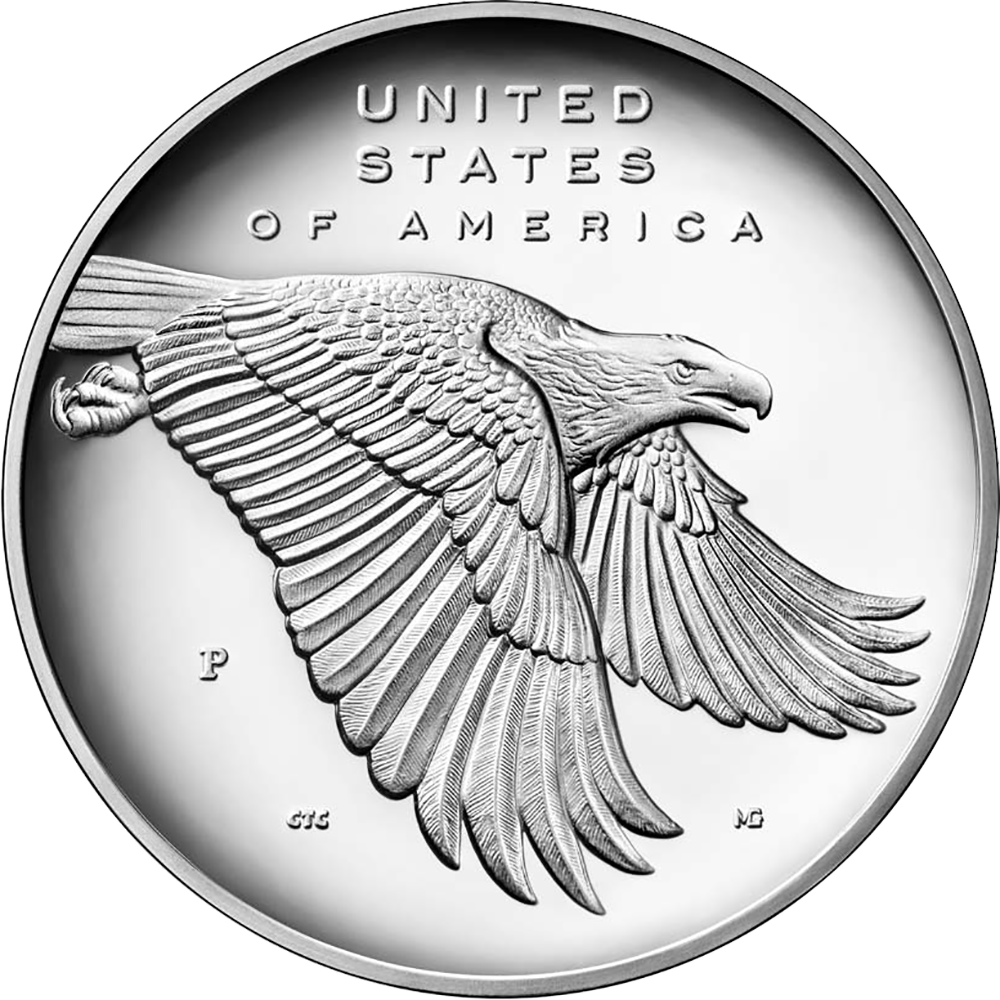 reverse of 2017-W American Liberty silver medal