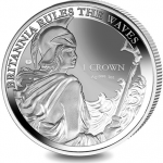 Falkland Islands: New Britannia silver bullion coin rules the waves
