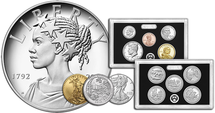 U.S. Mint retail products for June 2017