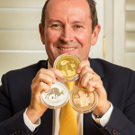 Australian premier unveils Perth Mint's rare $1.8m coin trilogy