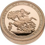 United Kingdom: First-of-its-kind piedfort gold sovereign celebrates 200th anniversary of iconic coin