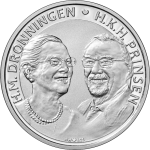 Denmark: Golden wedding anniversary of Margrethe II and Henrik celebrated on new commemorative coins