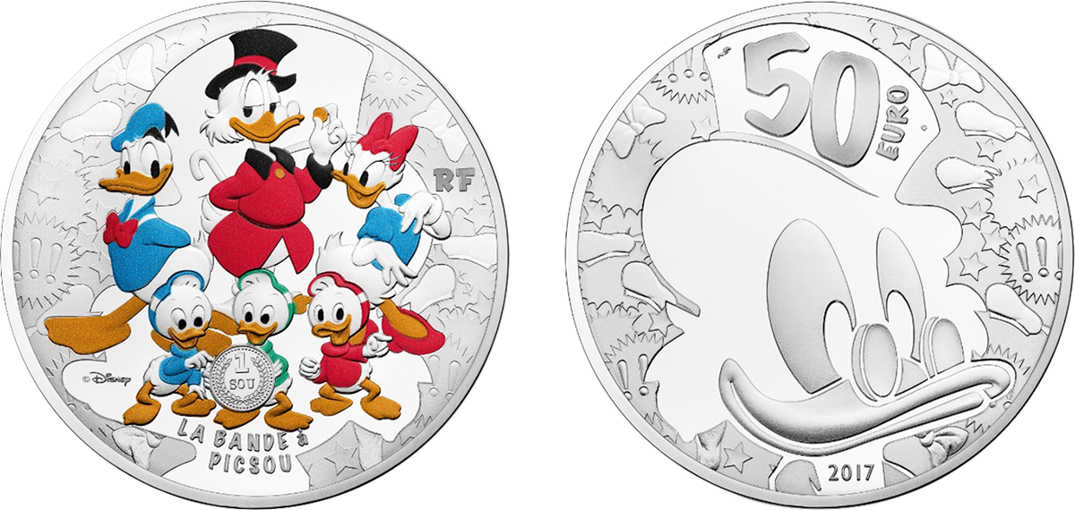 France Endearing Disney Character Scrooge Mcduck Features On Latest