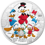 "France: Endearing Disney character Scrooge McDuck features on latest ""Youth Series"" gold and silver coins"