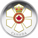 Canada: Order of Canada civilian award celebrates 50 years with elegant new silver coin