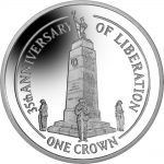 Falkland Islands: Liberation is remembered with new silver crown coin