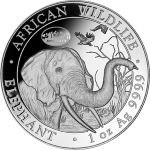 Special 2018 Somali Elephant designs available at the World's Fair of Money