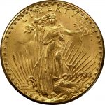 Mint displays 1933 double eagles at ANA World's Fair of Money