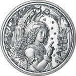 Austria: Second coin in inspiring Guardian Angels series dedicated to Gabriel