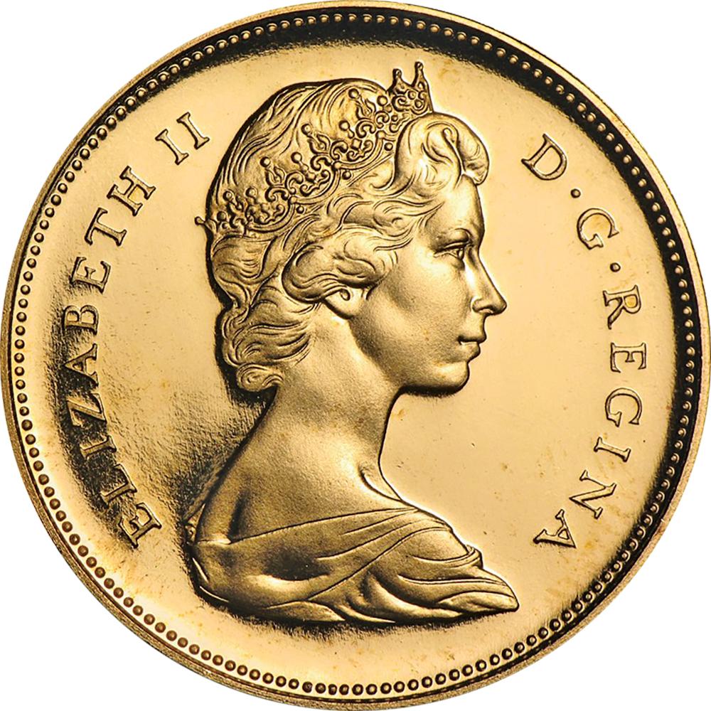 Canada Confederation Centennial 1967 20 dollars comparison obverse