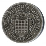 "St. Helena: Historic and legendary ""testern"" silver crown coin issued"