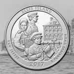 United States Mint and National Park Service to launch America the Beautiful Quarters Program coin honoring Ellis Island on Aug. 30