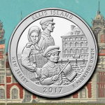 Official launch ceremony for the America the Beautiful Ellis Island quarters to take place August 30