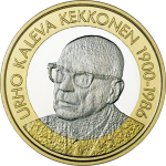 Finland: Presidents Series concludes with new Kekkonen coin