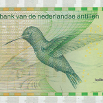 The modern bird banknote series of the Netherlands Antilles, 1986 to present