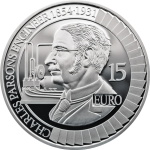Ireland launches latest silver coin in ongoing Science and Inventions series honouring Sir Charles Parsons