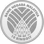 Malaysia: Leading commodity export featured on new silver commemorative coin