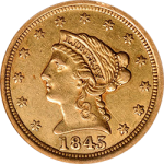 The New Orleans Mint's Liberty Quarter Eagles