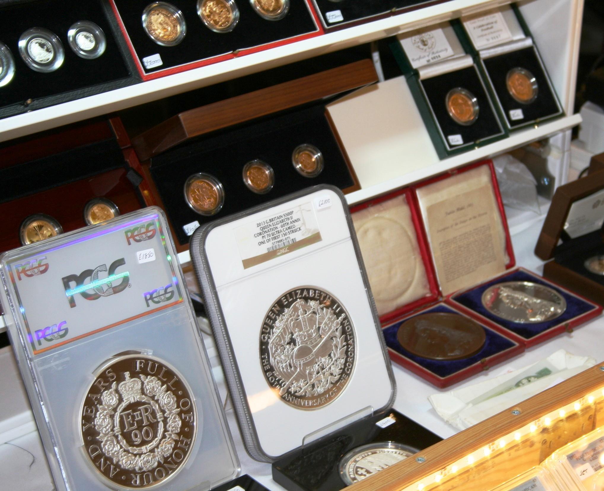 COINEX, London's premier coin event, has an impressive turnout