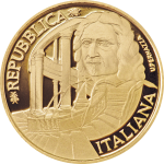 Italy: New gold coin features famous Italian Baroque architect Francesco Borromini