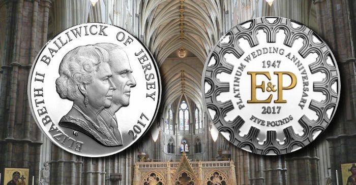 Jersey Momentous Platinum Wedding Anniversary Of Elizabeth Ii And