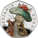 Fourth and final coin in popular Beatrix Potter 2017 Collection now available for pre-order