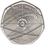 United Kingdom: The genius of Sir Isaac Newton honoured on latest commemorative 50 pence