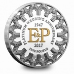 Jersey: Momentous platinum wedding anniversary of Elizabeth II and Philip celebrated with new crown coin