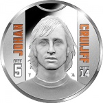 Netherlands: Football icon Johan Cruijff remembered on new gold and silver collector coins