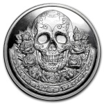 Choice Mint treats collectors to Día de los Muertos-themed silver round