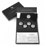 American Liberty 225th Anniversary Silver Four-Medal Set goes on sale today at noon