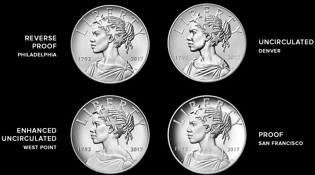 American Liberty 225th Anniversary Silver Four Medal Set