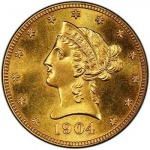 PCGS certifies unique special strike 1904-O $10 gold eagle