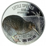 New Zealand: Latest kiwi gold and silver coins feature little spotted kiwi for 2018
