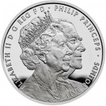 United Kingdom: New crown coins celebrate the longest Royal marriage in British history