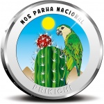 Aruba: National bird, prikichi, features on new colourful silver coin