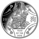 Australia: Lunar Year of the Dog features on latest gold and silver coins