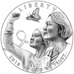 United States Mint unveils designs for Breast Cancer Awareness Commemorative Coins