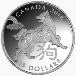 Canada: Year of the Dog features on latest Lunar New Year silver coin