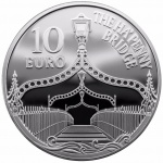 Ireland: Latest Europa silver coin issue features Dublin's own Ha'Penny Bridge