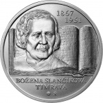 Slovakia: Prominent literary figure Božena Slančíková-Timrava remembered on new silver coin
