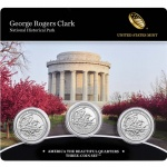 2017 George Rogers Clark National Historical Park Three-Coin Set available November 27 at noon