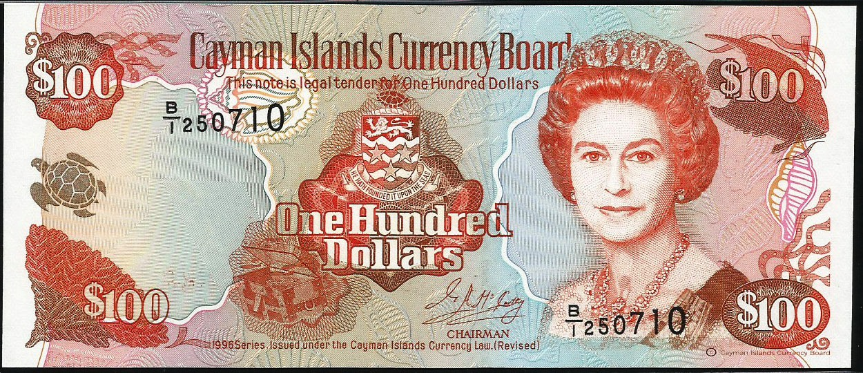 Of The Cayman Islands Currency Board This Series Does Not Include A 1 Or 50 Bank Note But Both Would Be Included Again In Subsequent Issues