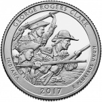United States Mint releases product options with George Rogers Clark National Historical Park quarters on November 13