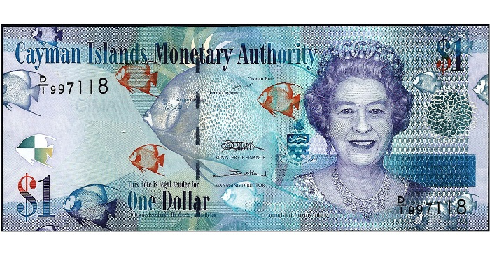 Bank Notes Of The Cayman Islands
