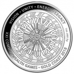 Australia: Gold and silver coins celebrate the 2018 XXI Commonwealth Games