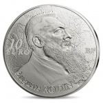 """France: Popular """"7 Arts"""" series continues with gold and silver coins featuring the art of French sculptor Auguste Rodin"""