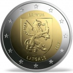 Latvia: Historic regions feature on new €2 commemorative coins
