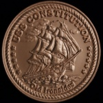 USS Constitution Museum launches limited edition collector's medallion minted from copper salvaged from the famous ship