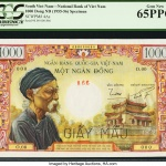 More than $2 million in world bank notes, currency, offered January 4-8 by Heritage Auctions